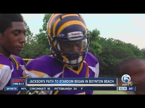 Lamar Jackson's path to college stardom began in Boynton Beach