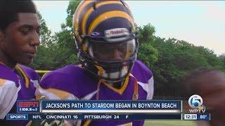vuclip Lamar Jackson's path to college stardom began in Boynton Beach