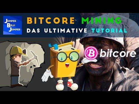 Bitcore Mining Tutorial deutsch - Bitcoin mining deutsch