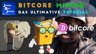 Bitcore Mining Tutorial deutsch - Bitcoin mining deutsch
