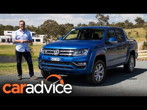 2017 Volkswagen Amarok V6 review | CarAdvice