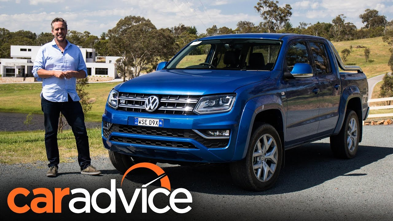 2017 Volkswagen Amarok V6 Review Caradvice Youtube
