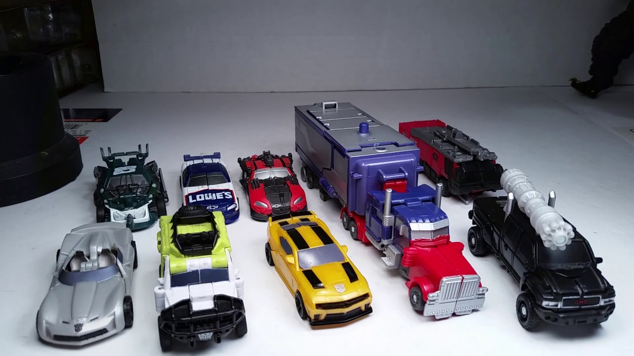 Dark of the Moon Transformers Autobots Bumble Bee /& Barricade Transformer Toy