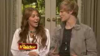 Miley Cyrus and Lucas Till teach Ross Mathews the Hoedown Throwdown