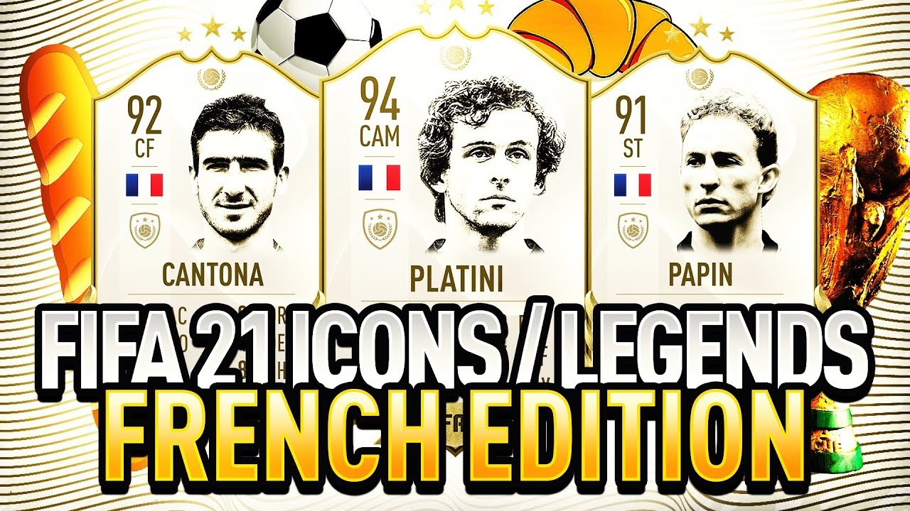 In fifa 21, cantona got a rating of 90 and a potential of 90. Fifa 21 New Icons Legends Confirmed French Edition Ft Platini Eric Cantona Papin More Youtube
