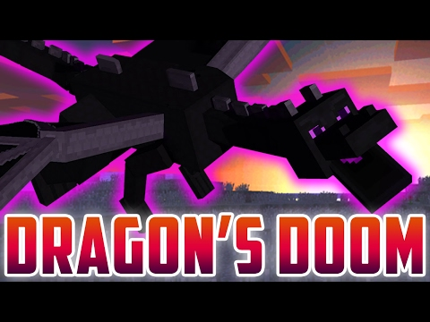 """♪ """"Dragon's Doom"""" - A Minecraft Song Parody of """"Shape Of You"""" by Ed Sheeran (Music Video)"""
