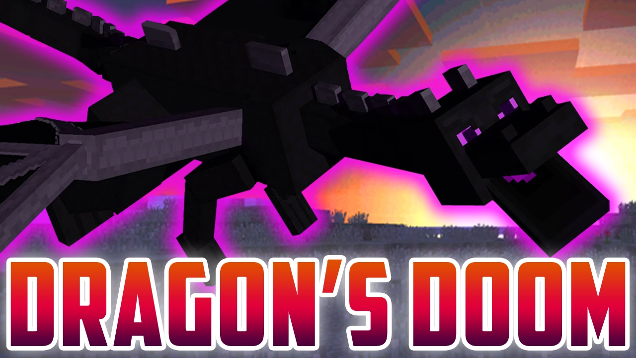 Dragons Doom A Minecraft Song Parody Of Shape Of You By Ed Sheeran Music Video