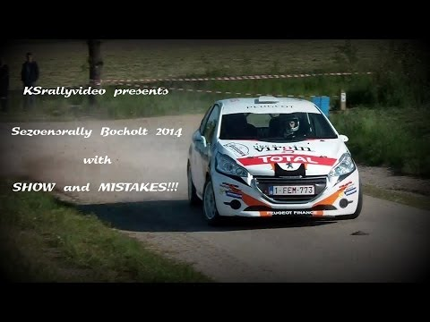 [BRC] Sezoensrally 2014 By KSrallyvideo [HD] SHOW And MISTAKES!!!