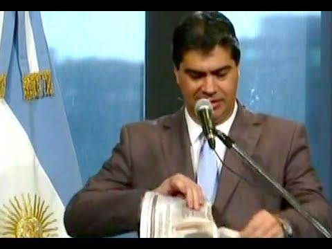 Jorge Capitanich Basura De Prensa Youtube