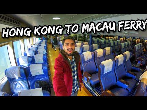 ONE DAY IN MACAU : Hong Kong to Macau FERRY : Casinos