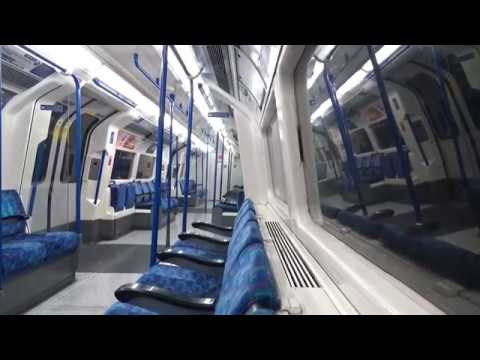 Full Journey on the Northern Line Edgware to Morden via Charing Cross