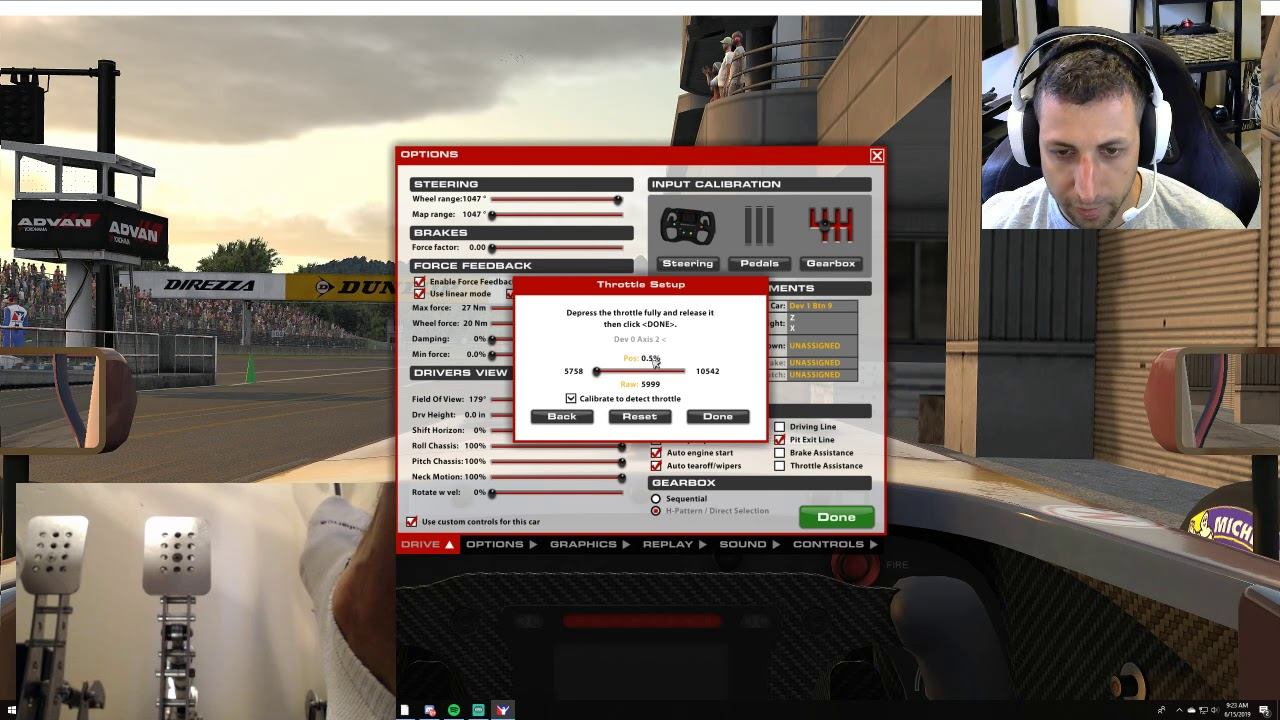 Heusinkveld Sim Pedals Pro - iRacing setup and overview