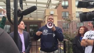 """Shelter resident """"Aaron"""" speaks about DHS abuse"""