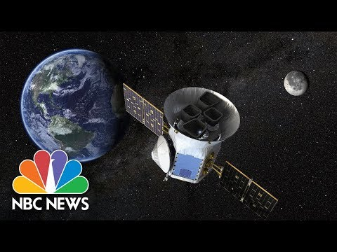 NASAs TESS PlanetHunting Satellite Launches Into Space  NBC News