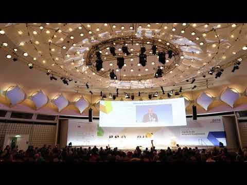 dena-Kongress 2017:  Plenum – Integrierte Energiewende: Was jetzt zu tun ist