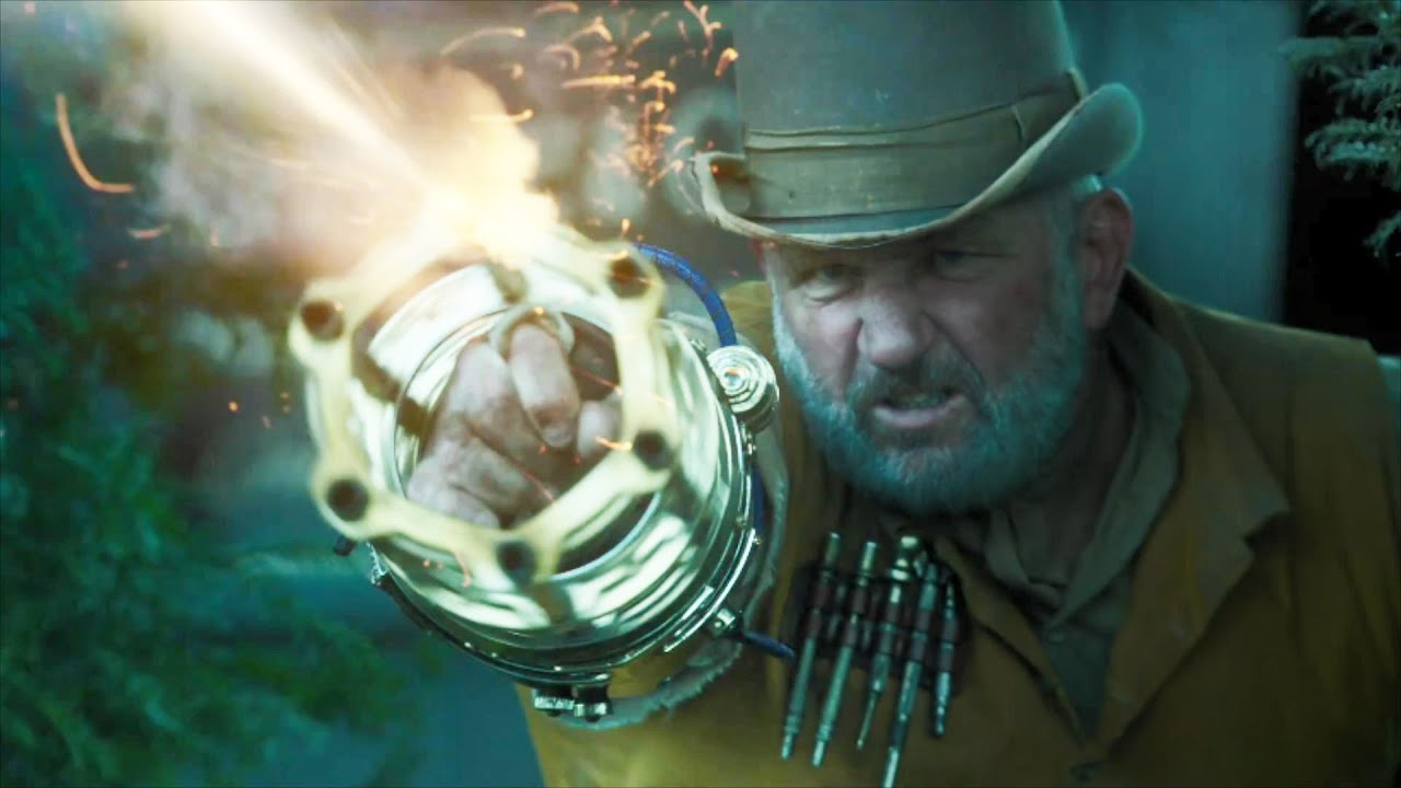 超能力男子活在古代,胳膊却是加特林机枪,这才叫真正火力碾压!