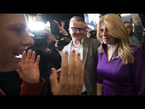 Anti-graft activist Caputova elected Slovakia's first female president