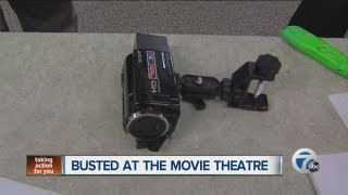 Bootleggers caught at a local movie theater