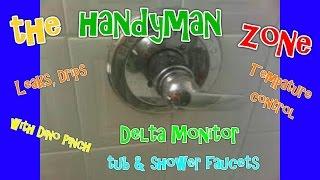 Delta Monitor tub - shower faucet, fix leaks from spout, shower head.  RP19804 CARTRIDGE