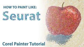 Digital Art - How To Paint Like: Seurat (Pointillism)
