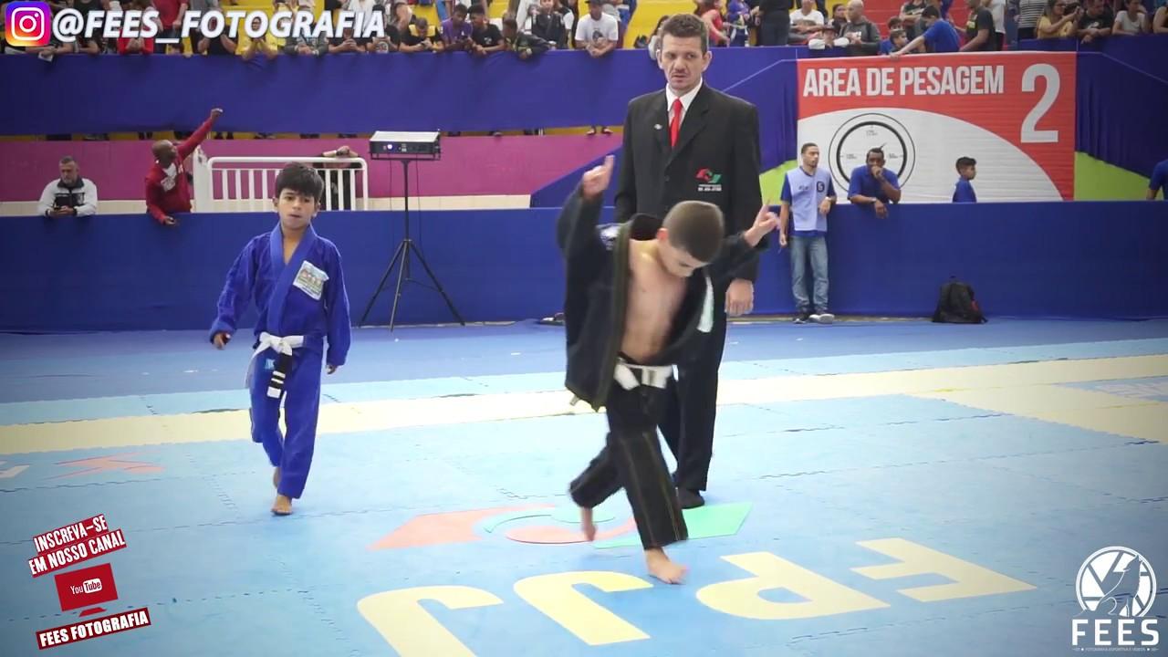 JIU - JITSU - Kids - Campeonato Paulista 2018.