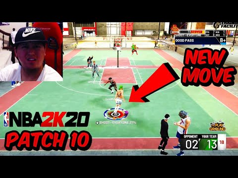 PATCH 10 FIRST GAME - EXPLOSIVE BEHIND THE BACK IS GONE NBA 2K20 SAY GOODBYE to DRIBBLING |