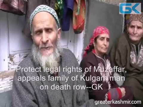 Protect legal rights of Muzaffar, appeals family of Kulgam man on death row