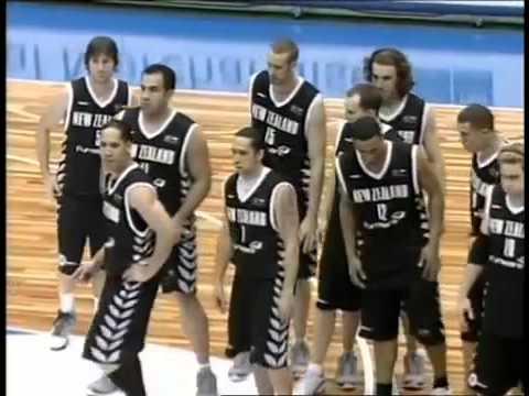 2006 FIBA World Champioship Nova Zelandia vs Angola