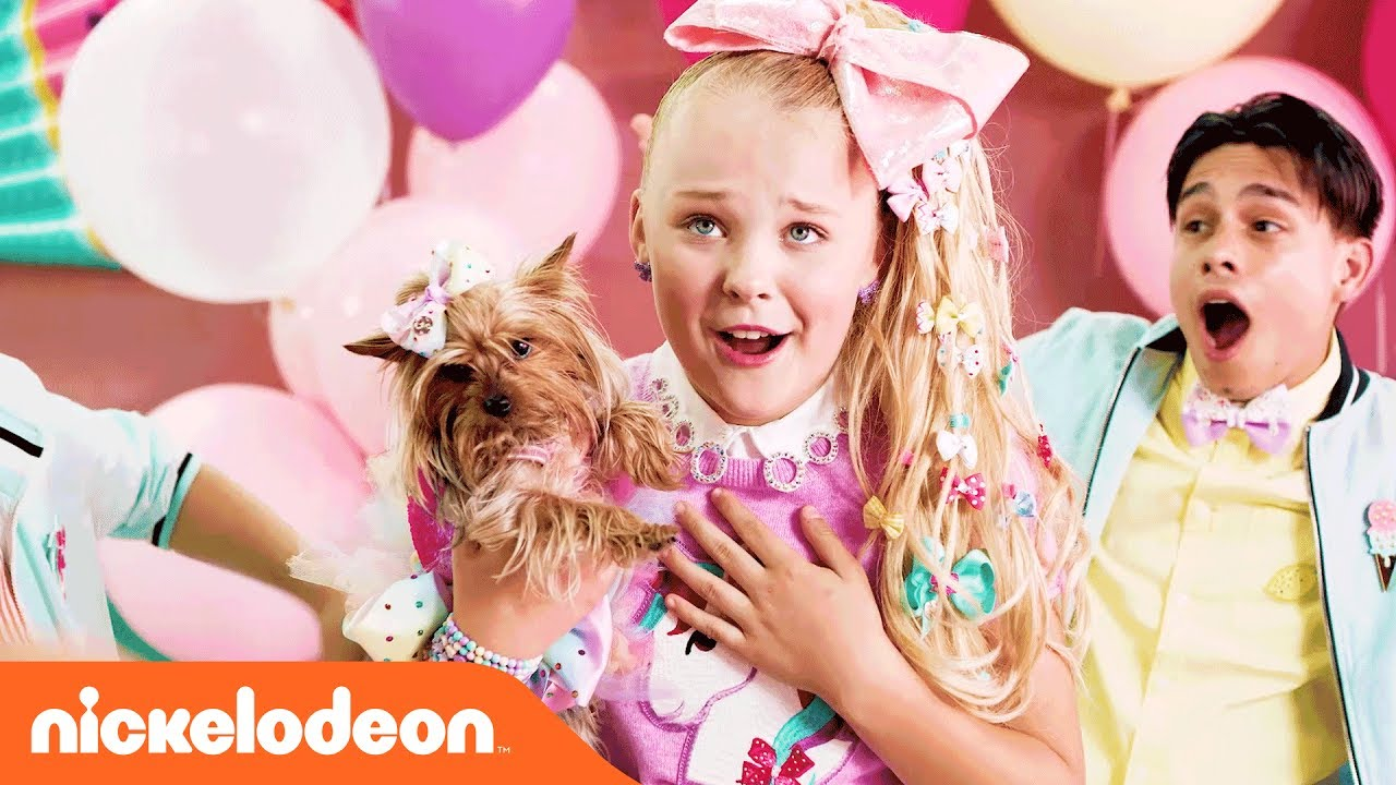 Jojo Siwa Bowbow Bffs On Off The Set Nick Youtube