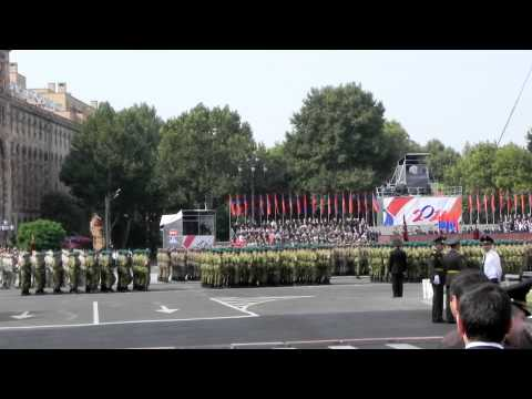20th Armenian Independence Day Military Parade, Part 1