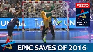 30 Epic Saves of 2016   VELUX EHF Champions League