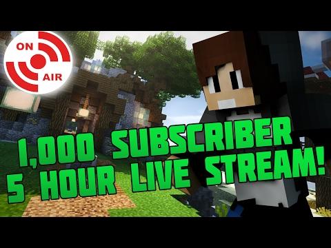 Live Stream w/ Friends | 5 Hour 1k Special | BlackMinePlays LIVE SUB ALERTS