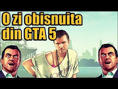 O zi obişnuită din GTA 5 (Parodie)