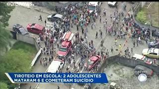 Tiroteo en una escuela de Brasil deja al menos 10 personas sin vida