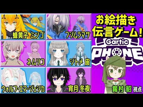 【コラボ】最強絵師集結【Gartic Phone】