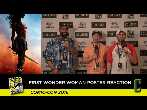 First Wonder Woman Poster Reaction - San Diego Comic-Con 2016