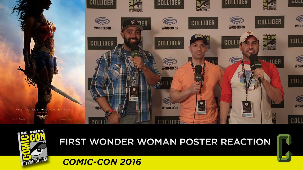 First Wonder Woman Poster Reaction