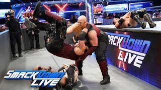 The Bludgeon Brothers send a message to The New Day: SmackDown LIVE, Aug. 14, 2018