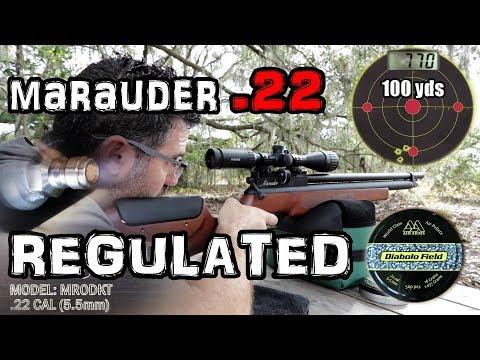 Benjamin Marauder  22 Regulated - FULL REVIEW - YouTube