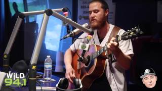 "Mike Posner Performs ""Be As You Are"" On The Bootleg Kev Show on Wild 94.1"