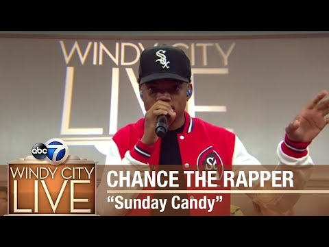 "Chance The Rapper performs ""Sunday Candy"" on Windy City LIVE!"