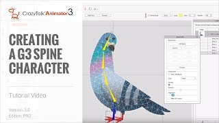 CrazyTalk Animator 3 Tutorial - Creating a Character with the G3 Spine Template
