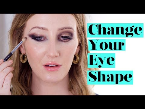 HOW TO CHANGE YOUR EYE SHAPE With Eyeshadow  Sharon Farrell