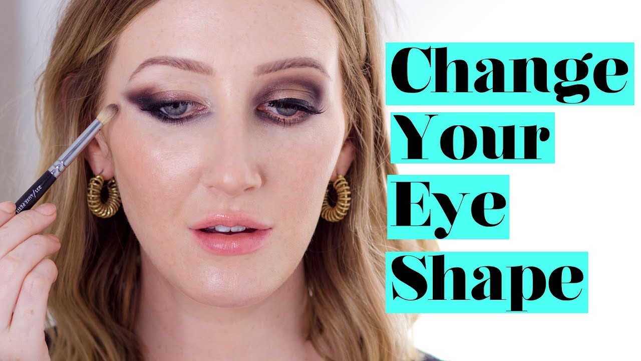 d2a5a94d577 HOW TO CHANGE YOUR EYE SHAPE With Eyeshadow | Sharon Farrell - YouTube