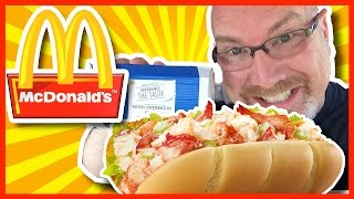 McDonalds McLobster Review - YES! I said McLOBSTER!!!
