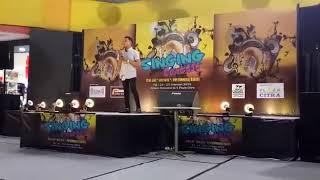 singing contest pekanbaru aga aulia