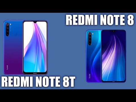 Redmi Note 8T Vs Redmi Note 8. 🤼♂️ Сражение между китайцами!
