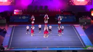 7th World Cheerleading Championships 2013, Thailand, Day 2, female is Japan