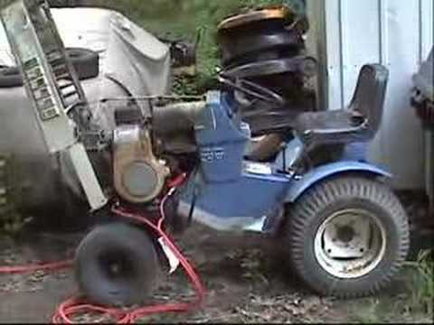 hqdefault 1970 sears suburban lawn tractor, 12hp tecumseh youtube Sears Suburban 12 Garden Tractor at reclaimingppi.co