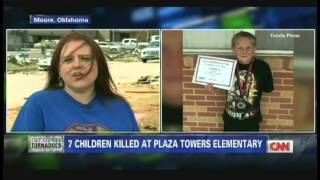 Remembering the tornado victims, son killed in Oklahoma elementary school (May 23, 2013)